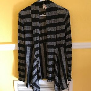 New Mix Open Front Cardigan Sweater Size M